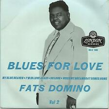 """FATS DOMINO, BLUES FOR LOVE VOL 2, """"MY BLUE HEAVEN"""" 50'S EP LONDON 1062"""