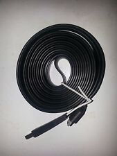 Black Extra Long 3m USB Data Sync Charger Cable Lead- iPhone 4 4S iPad 2 3 iPod