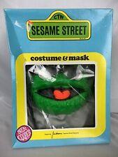 Oscar the Grouch 1979 Sesame Street Muppets Ben Cooper Costume Kids Size 6-8