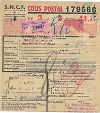 4 bulletins d'expédition de Colis postaux  - ( BL ) -  25-05-20