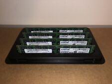 Crucial 32GB RAM Kit (4x8GB) DDR3 PC3-12800 1600MHz Memory CT102472BB160B
