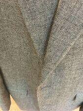 Polo Ralph Lauren Herringbone Silk/wool/linen Mens jacket size 44 - gray/black