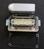 HARTING 1Stk. 24-polige Steckverbindung komplett HS12 24-polig 16A male+female