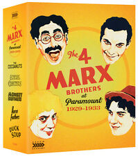 The 4 Marx Brothers at Paramount 1929 - 1933 Limited Edition