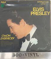 """Elvis Presley  C'mon Everybody 1971 [INTS1286] 12"""" Vinyl  Rock N Roll VG+ / VG+"""
