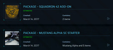 Star Citizen Squadron 42 Game Package + Mustang Alpha + 5000 UEC & 100,000 REC