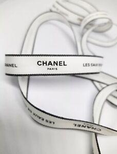"CHANEL Les Eaux De Ribbon Rare Found 1 Yard / 36"""