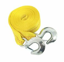 2 Inch x 20 Ft. Polyester Tow Strap Rope 2 Hooks 10,000lb Heavy Duty