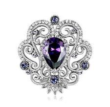 Rhodium Plated Rhinestone Fashion Jewellery