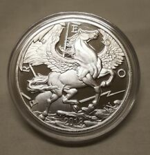 2018 1oz .999 Silver Pegasus Horse Silver Round Coin