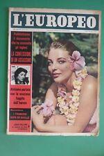 L'Européen 25/1958 Joan Collins Pietro Annigoni Kim Novak Roger Vadim
