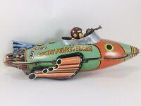 "Vintage Marx | Buck Rogers Rocket Police Patrol | Motor works and It ""SPARKS"""