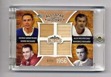 MAURICE & HENRI RICHARD ARMSTRONG DELVECCHIO 2016 LUMBER KINGS QUAD STICK #9/15