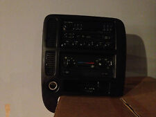 2001 FORD WINDSTAR CASSETTE/RADIO CLIMATE CONTROL AC/HEATER READ DESCRIPTION CT