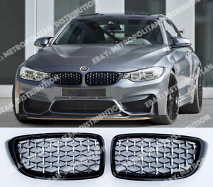 M440i look grilles BMW 4 coupe convertible F32 F33 F36 F82 M Performance DIAMOND