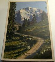 Switzerland Weg nach Grutschalp die Jungfrau  - unposted