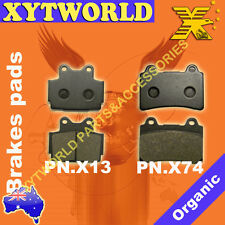 Front Rear Brake Pads for Yamaha FZR250 FZR 250 1987
