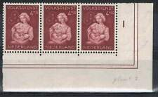 Nederland plaatfout postfris 0424PM4 MNH (plaat 2) + 3 x 424PM7