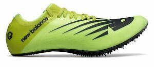 New Balance Men's Sigma Aria Track Spike Shoes Yellow with Black