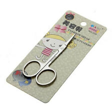 Stainless Steel Scissors Nose Hair Small Eyebrow Scissors Manicure Makeup Tool