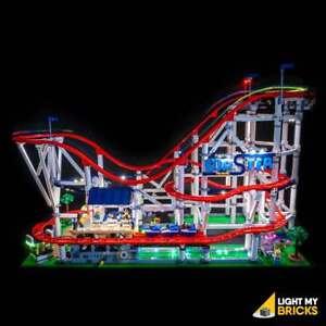 LIGHT MY BRICKS - LED Light kit for Lego Roller Coaster 10261 LEGO Lights