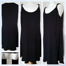 The White Company White Label Black Tunic Dress UK 14