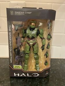 HALO Infinite SPARTAN COLLECTION Master Chief Action Figure Game Code Fast Ship
