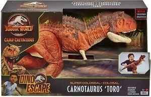 Jurassic World Camp Cretaceous Colossal Carnotaurus Toro Figure Jurassic Park