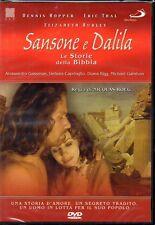 SANSONE E DALILA - LE STORIE DELLA BIBBIA - 2 DVD (NUOVO SIGILLATO)