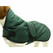 """Waxed Dog Coat Green 14"""""""