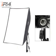"1pcs Photo Studio 50 x 70cm / 20*28"" Softbox Continuous Lighting E27 Lamp Head"