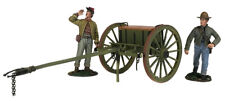 W. Britain - Confederate Light Artillery Limber With Two Man Crew 31293 ACW