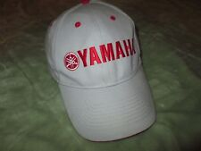 Yamaha Red Letter Logo Motocross 4-wheeler adjustable Hat Cap trucker