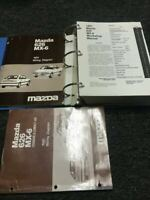 1991 Mazda 626 MX6 MX-6 Service Workshop Repair Shop Manual Set W ETM OEM