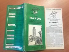 Guide Michelin Maroc 1952