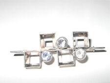 Brosche Bergkristall KJP 925 Silber Finnland