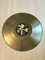 U2 Joshua Tree 1987 Gold Vinyl Record Island First Press Label