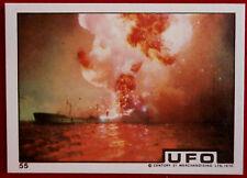 UFO - ALIEN ATTACK ON NAVAL VESSEL - Monty Gum (1970) - Card #55