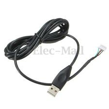 USB Mouse Mice 2m Cable For Logitech MX518 MX510 MX500 MX310 G1 G3 G400 G400S