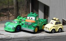 Lego Duplo Disney Pixar Cars LOT Luigi Taxi Chug Truck & Carla Veloso Exc Cond