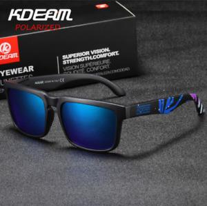 Gafas de sol Polarizadas, Kdeam KD901 C22 HD, UV 400, Polarized Sunglasses