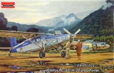 PILATUS PC-6C/H2 TURBO PORTER  (AIR AMERICA/CIA MKGS)#440 1/48 RODEN
