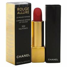 CHANEL ROUGE ALLURE  LUMINOUS INTENSE LIP COLOUR  LIPSTICK # 102 Palpitante
