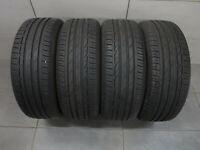 4x Sommerreifen Bridgestone Turanza T001 205/55 R16 91Q / DOT 16-19 / 6,0 mm