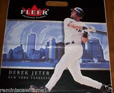 DEREK JETER -TWIN TOWERS BEF 9-11-FIVE (5) VINYL BAGS-NEW YORK YANKEES-NY HARBOR