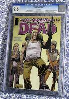 The Walking Dead #53 CGC 9.6 1st app. Abraham & Rosita Kirkman Adlard Rathburn