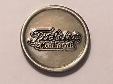 """Rare Titleist 7/8"""" Flat Coin Style Golf Marker - A Beauty!"""