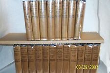 Complete Works of Joseph Conrad in 20 Volumes, with dust Jackets,1925, H/C USA