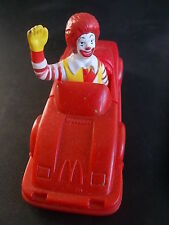 Vintage McDonald's Toy McDonalds toys 1991 Ronald McDonald in Car 1990s VGC