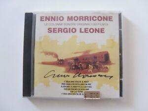 Cd COLONNE SONORE con autografo - AUTOGRAFATO DA ENNIO MORRICONE - SIGNED